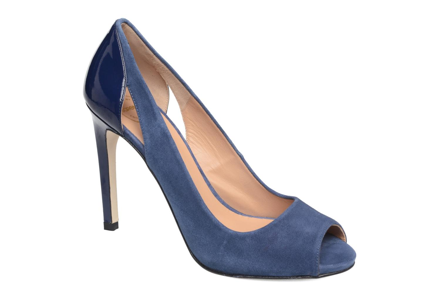 High heels Made by SARENZA Carioca Crew Escarpins #7 Blue view from the right