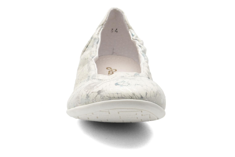 Ballerines Ramdam by GBB Libre Argent vue portées chaussures