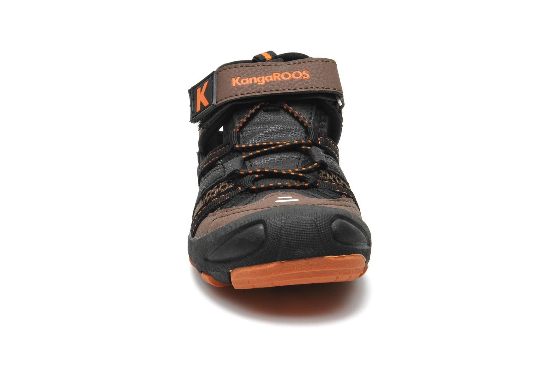 Sandales et nu-pieds Kangaroos KangaSpeed 2068 Marron vue portées chaussures