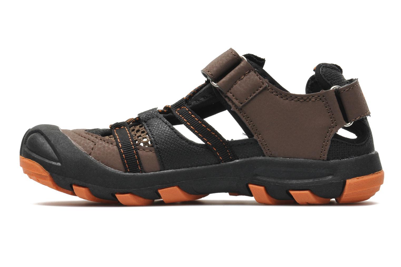 Sandales et nu-pieds Kangaroos KangaSpeed 2068 Marron vue face