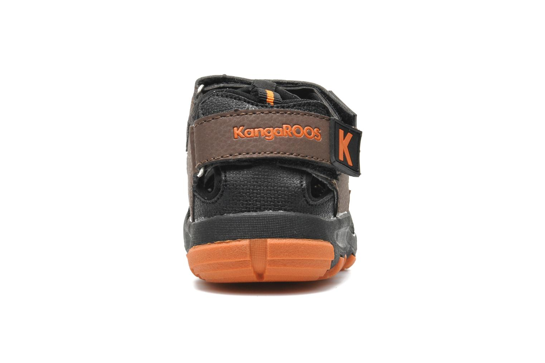 Sandales et nu-pieds Kangaroos KangaSpeed 2068 Marron vue droite