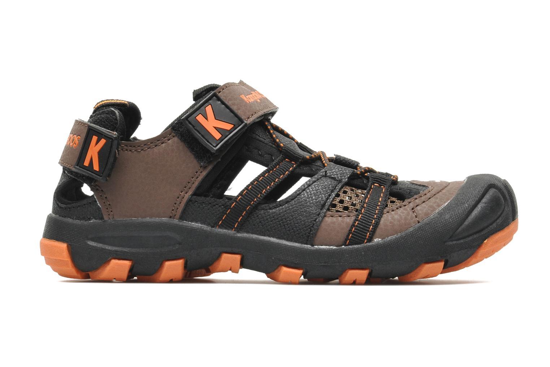 Sandales et nu-pieds Kangaroos KangaSpeed 2068 Marron vue derrière