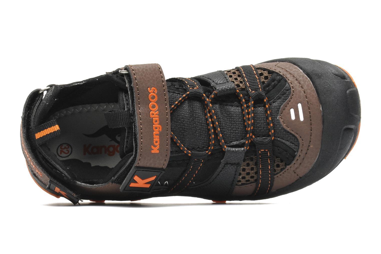 Sandales et nu-pieds Kangaroos KangaSpeed 2068 Marron vue gauche