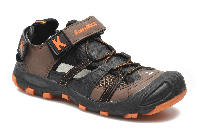 Sandales et nu-pieds Kangaroos KangaSpeed 2068 Marron vue détail/paire