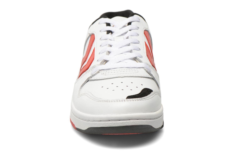 Baskets Hummel Pernfors Power Play Blanc vue portées chaussures