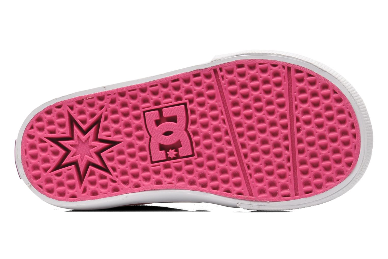 Sneaker DC Shoes TRASE TX Toddler rosa ansicht von oben