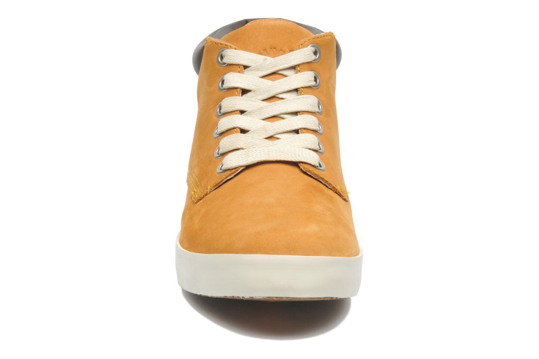Sneaker Timberland Earthkeepers Glastenbury Chukka beige schuhe getragen
