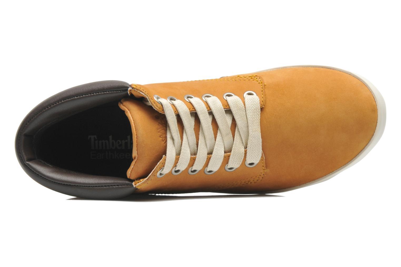 Sneaker Timberland Earthkeepers Glastenbury Chukka beige ansicht von links