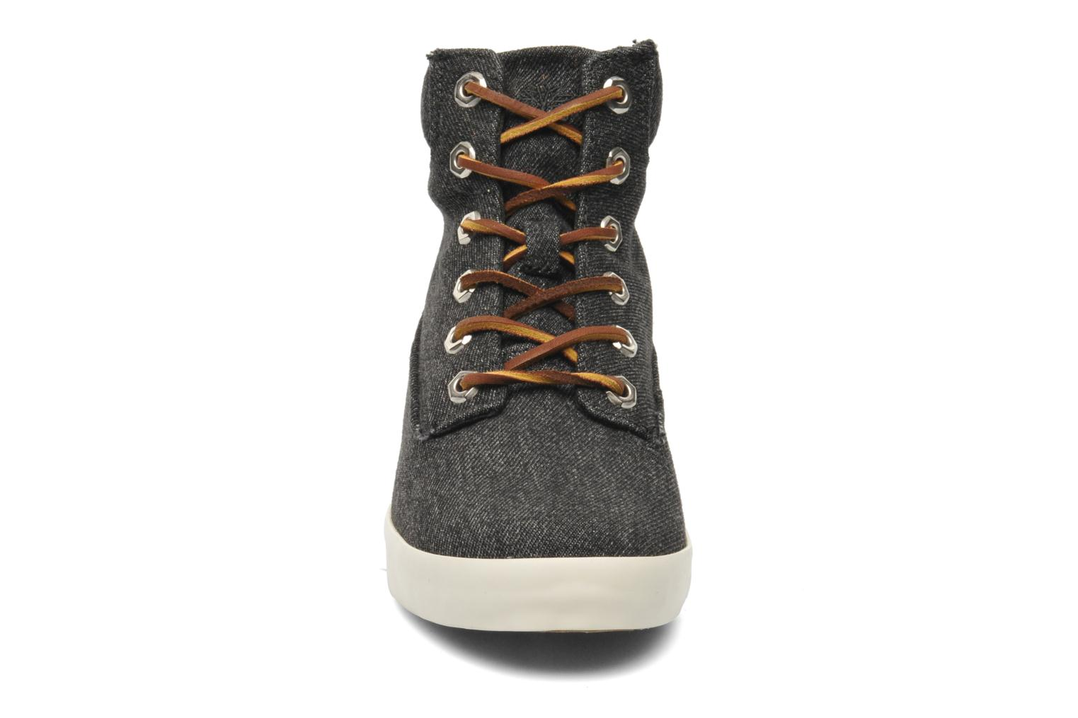 """Baskets Timberland Earthkeepers Glastenbury Fab 6"""" Boot Noir vue portées chaussures"""