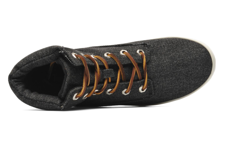 "Earthkeepers Glastenbury Fab 6"" Boot Black Washed Denim"