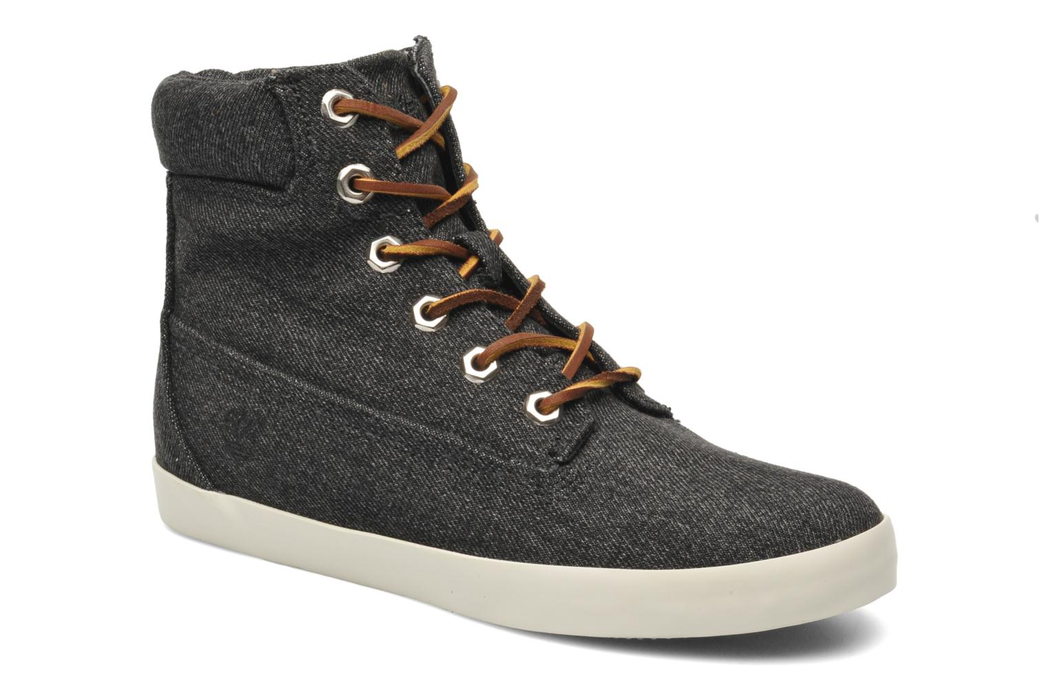 """Baskets Timberland Earthkeepers Glastenbury Fab 6"""" Boot Noir vue détail/paire"""