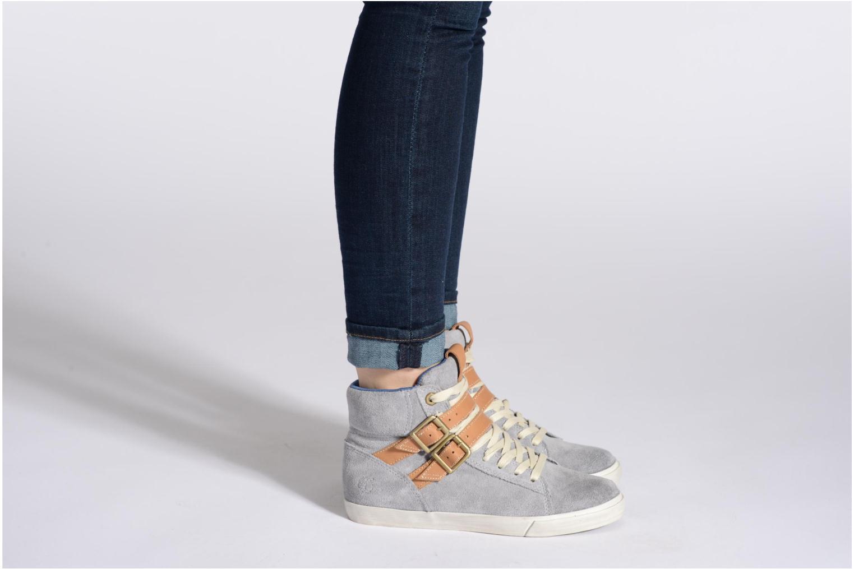 Earthkeepers Glastenbury Sneaker Hi Top Grey suede