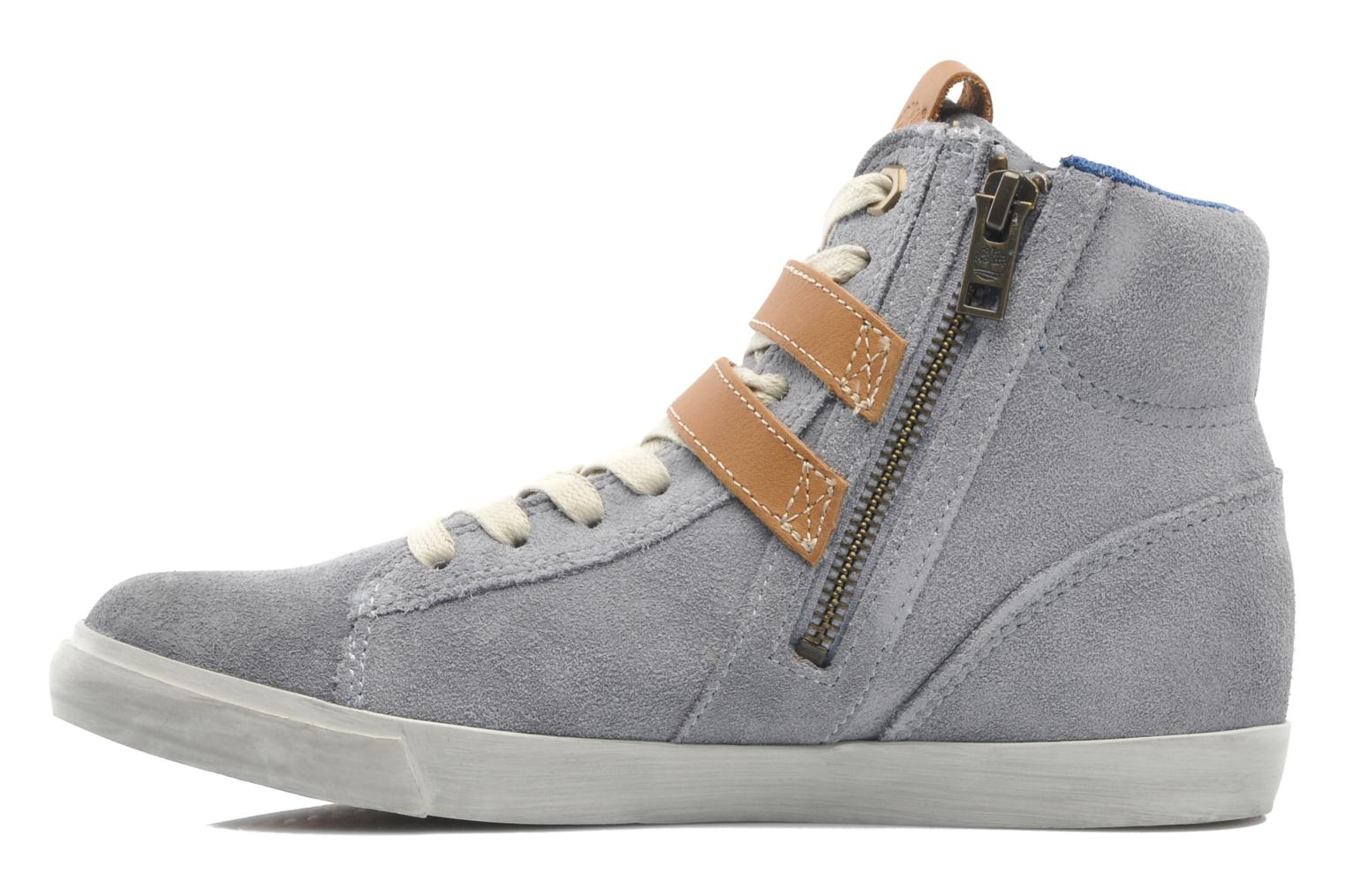 Earthkeepers Glastenbury Sneaker Hi Top Grey suede