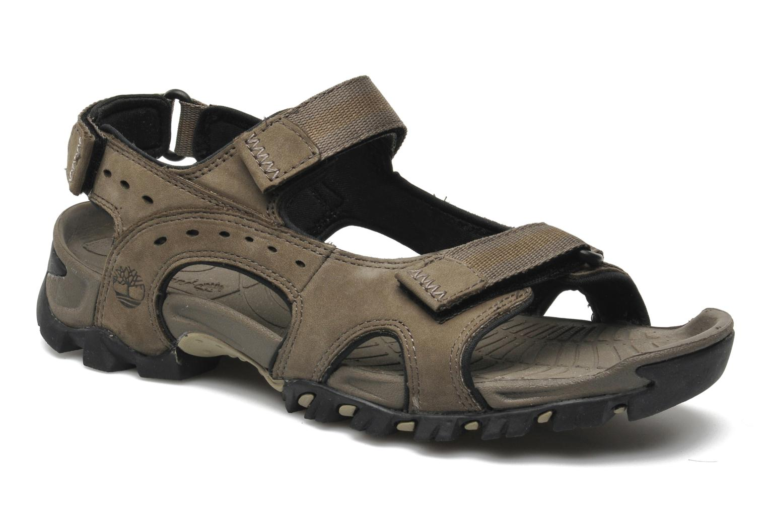 Sandals Timberland Wakeby Sandal Grey detailed view/ Pair view