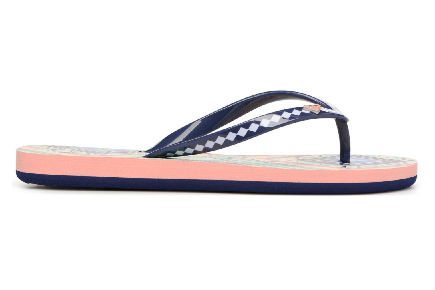 Flip flops Roxy Rg Pebbles V Multicolor back view