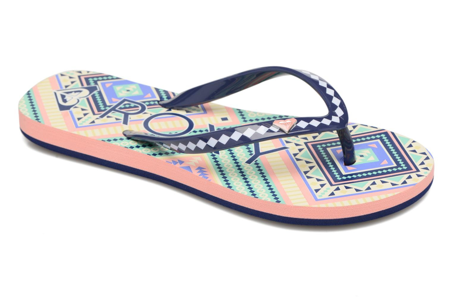 Flip flops Roxy Rg Pebbles V Multicolor detailed view/ Pair view