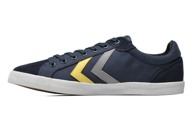 Sneaker Hummel Deuce Court Summer blau ansicht von vorne