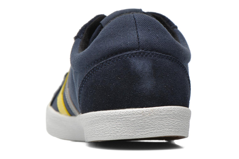 Sneaker Hummel Deuce Court Summer blau ansicht von rechts