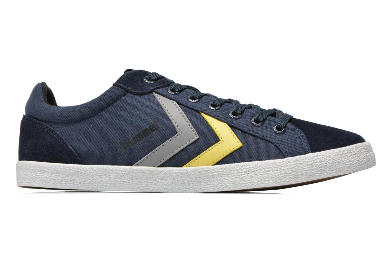 Sneaker Hummel Deuce Court Summer blau ansicht von hinten