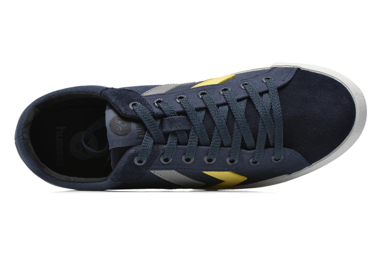Sneaker Hummel Deuce Court Summer blau ansicht von links