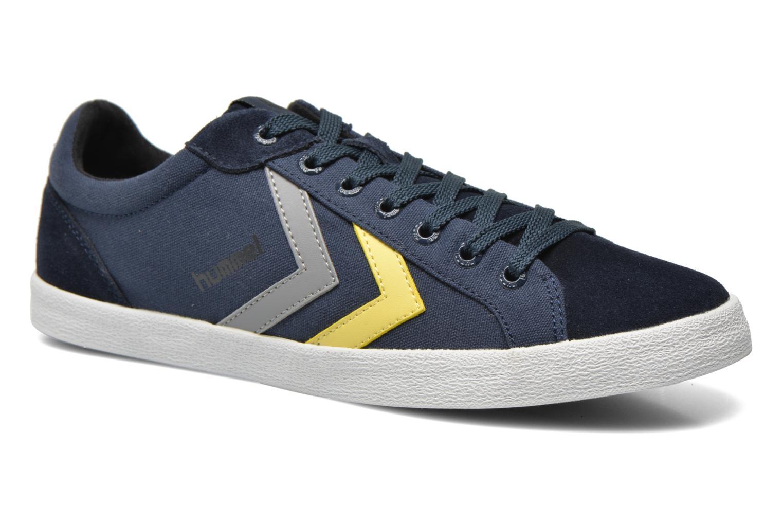 Sneaker Hummel Deuce Court Summer blau detaillierte ansicht/modell