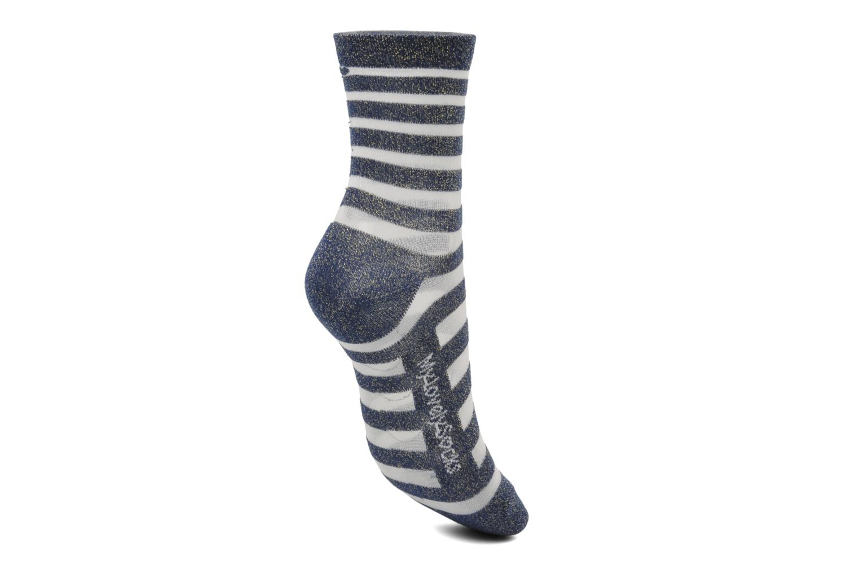 Chaussettes et collants My Lovely Socks Chaussettes Mixte Faustine Bleu vue gauche