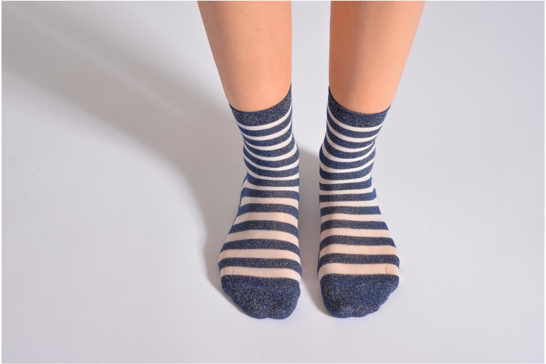 Chaussettes et collants My Lovely Socks Chaussettes Mixte Faustine Bleu vue haut