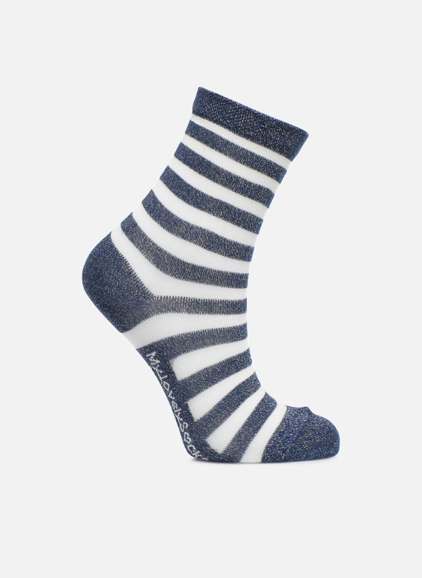 Medias y Calcetines My Lovely Socks Faustine Azul vista de detalle / par