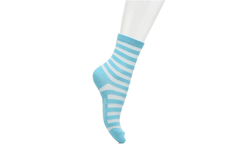 Calze e collant My Lovely Socks Faustine Azzurro immagine frontale