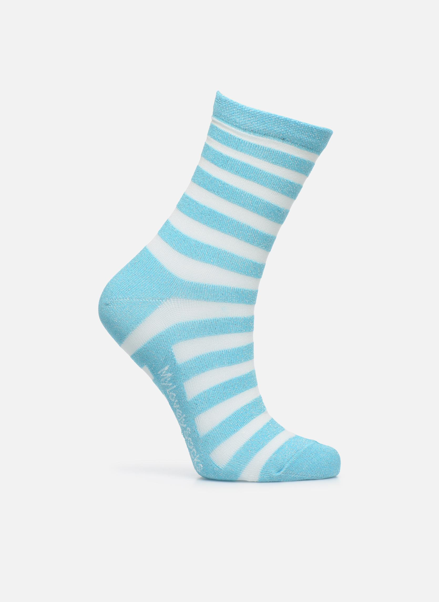 Calze e collant My Lovely Socks Faustine Azzurro vedi dettaglio/paio