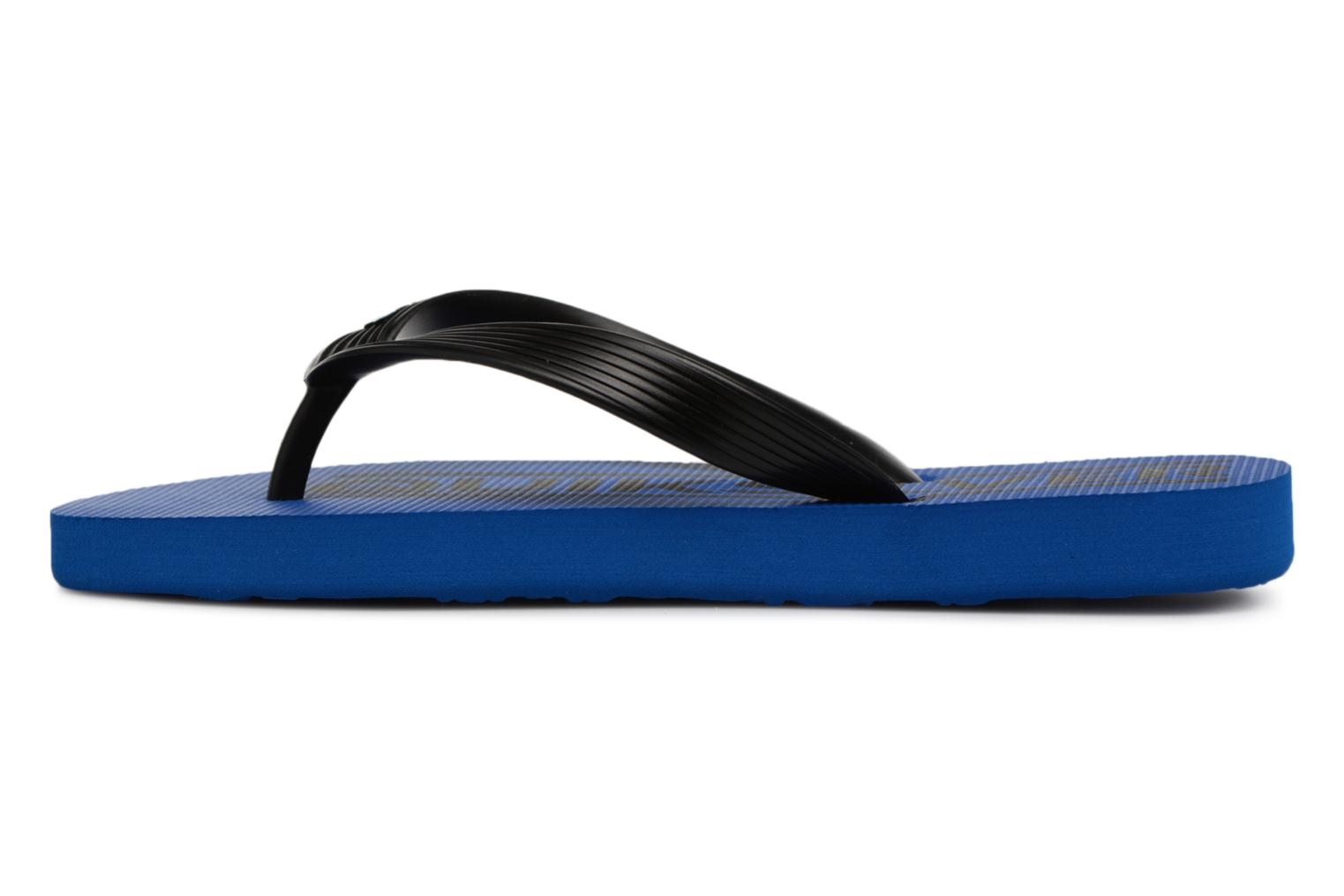 Tongs Quiksilver JAVA WORDMARK YOUTH Bleu vue face