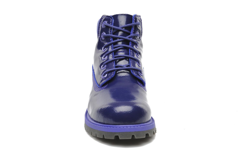 Bottines et boots Timberland 6 IN PREM WP PRP Violet vue portées chaussures