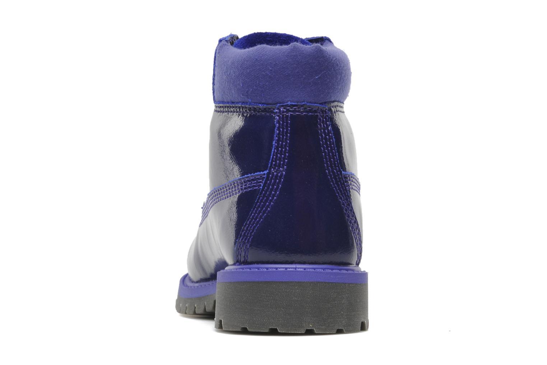 Bottines et boots Timberland 6 IN PREM WP PRP Violet vue droite