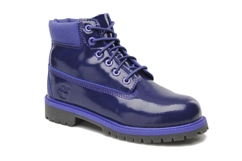 Bottines et boots Timberland 6 IN PREM WP PRP Violet vue détail/paire