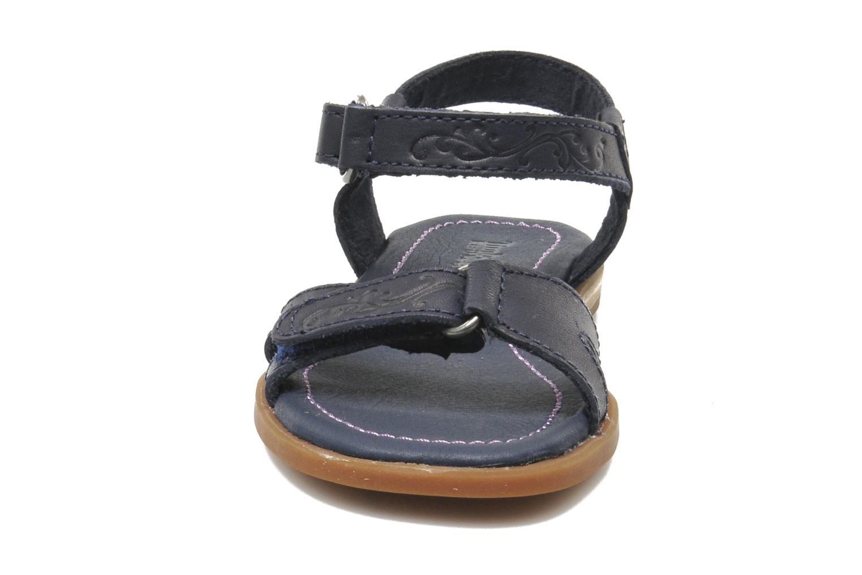Sandales et nu-pieds Timberland WLLWBRK XBNDSNDL Bleu vue portées chaussures