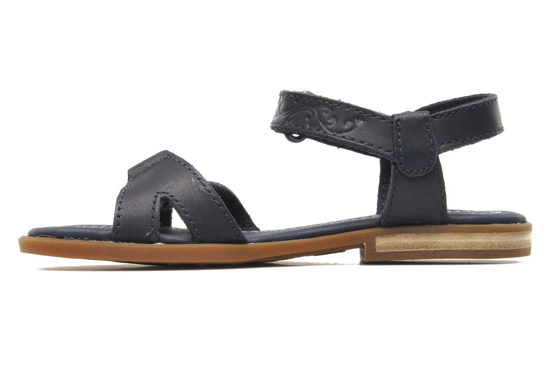 Sandales et nu-pieds Timberland WLLWBRK XBNDSNDL Bleu vue face
