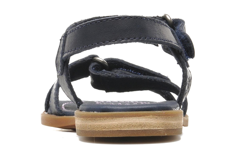 Sandales et nu-pieds Timberland WLLWBRK XBNDSNDL Bleu vue droite