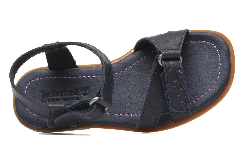 Sandales et nu-pieds Timberland WLLWBRK XBNDSNDL Bleu vue gauche
