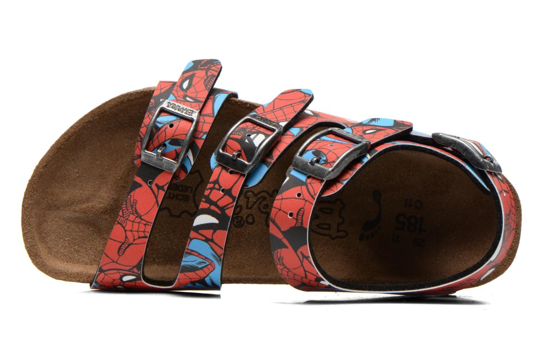 Sandales et nu-pieds Birkenstock ELLICE Rouge vue gauche
