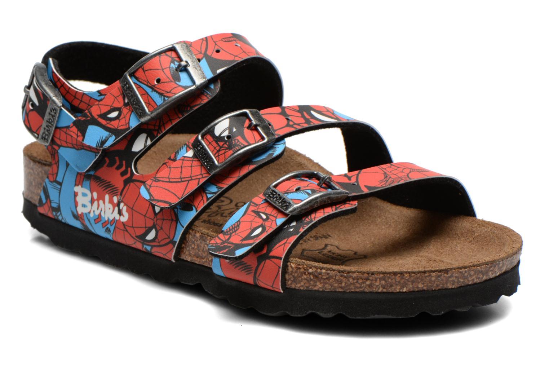 Sandales et nu-pieds Birkenstock ELLICE Rouge vue détail/paire