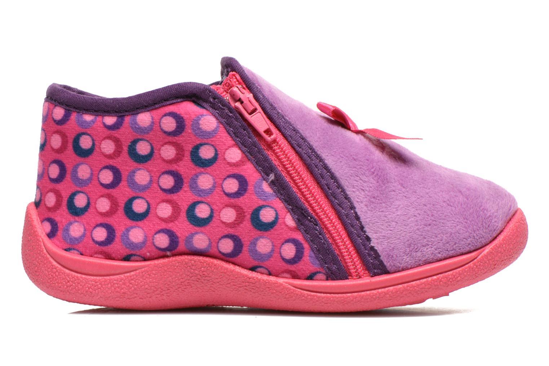 Pantoffels Rondinaud GESSY Roze achterkant