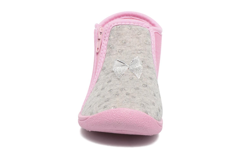 Hausschuhe Rondinaud GESSY rosa schuhe getragen