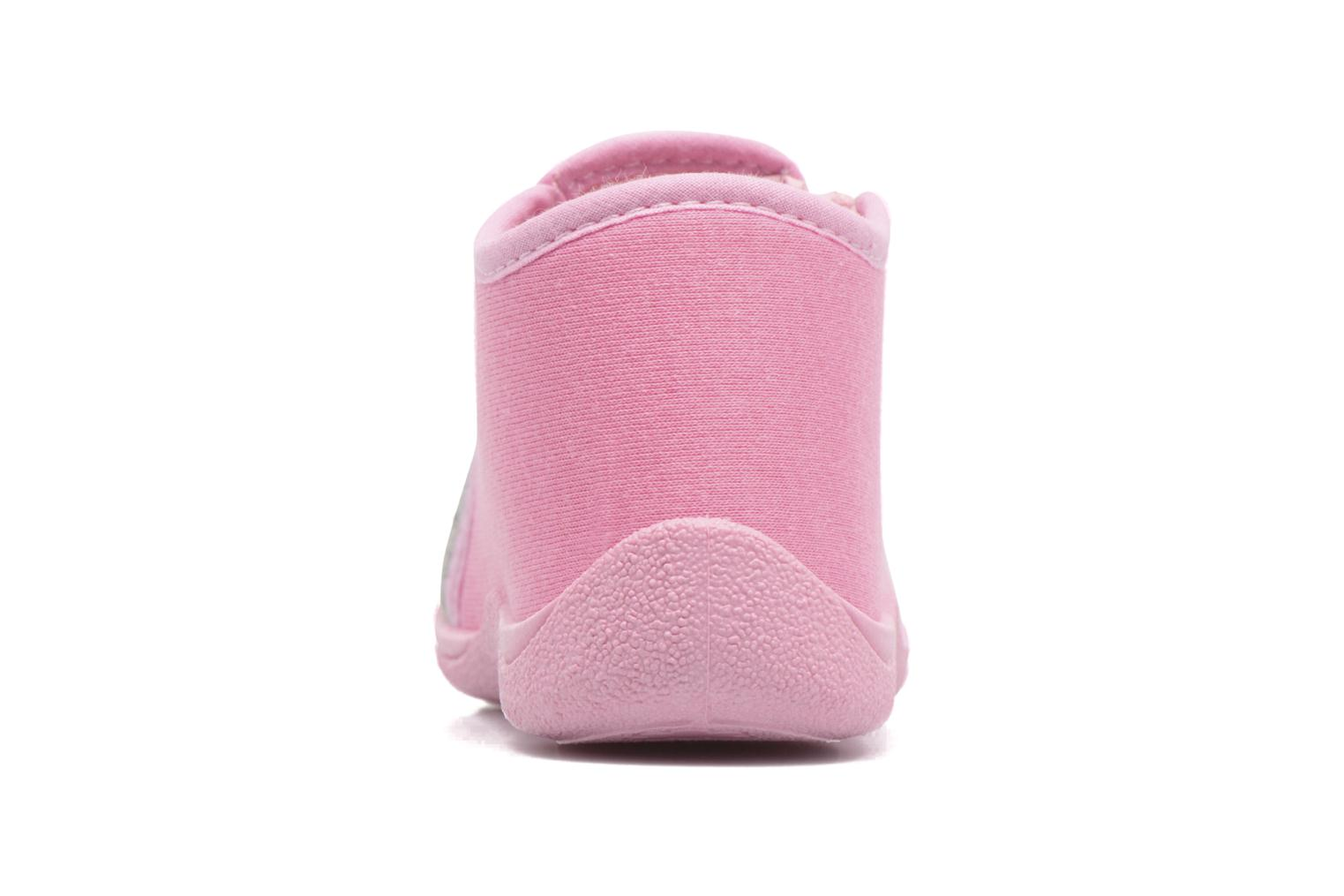 Chaussons Rondinaud GESSY Rose vue droite