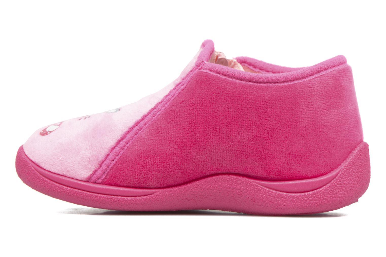 Hausschuhe Rondinaud GESSY rosa ansicht von vorne