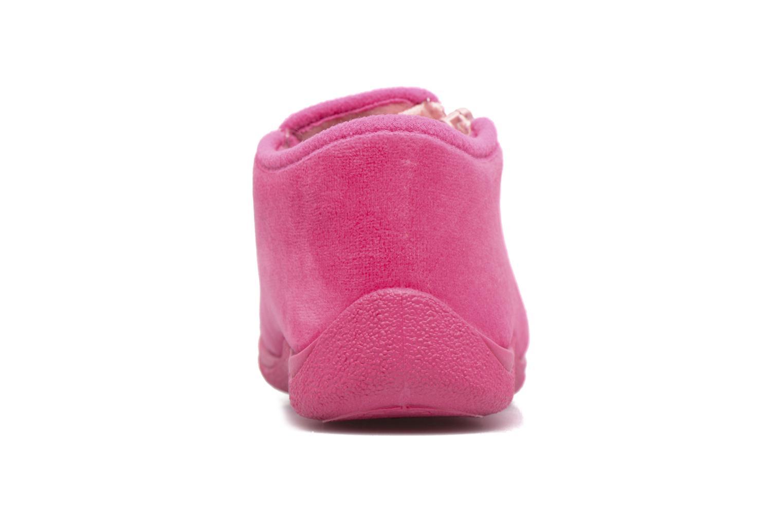 Hausschuhe Rondinaud GESSY rosa ansicht von rechts