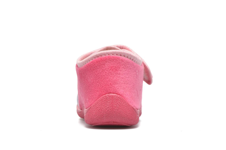 Pantuflas Rondinaud RECENT Rosa vista lateral derecha