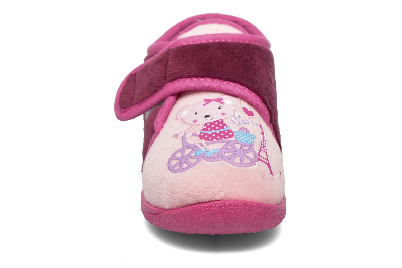 Slippers Rondinaud RECENT Pink model view