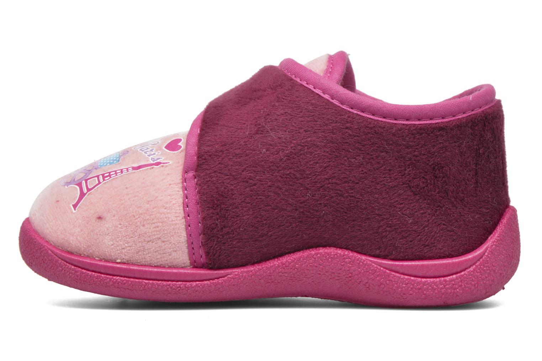 Hausschuhe Rondinaud RECENT rosa ansicht von vorne