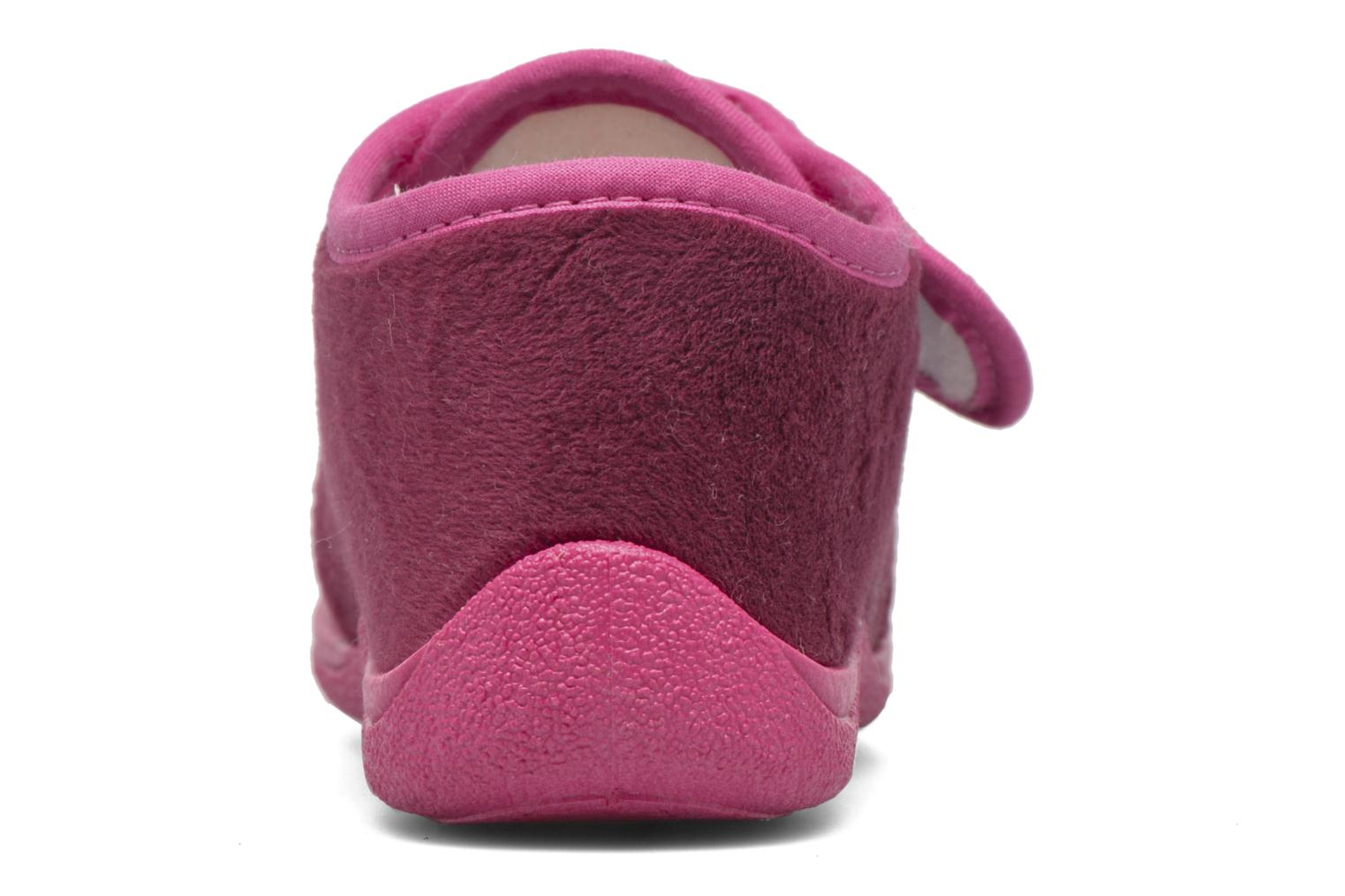 Slippers Rondinaud RECENT Pink view from the right