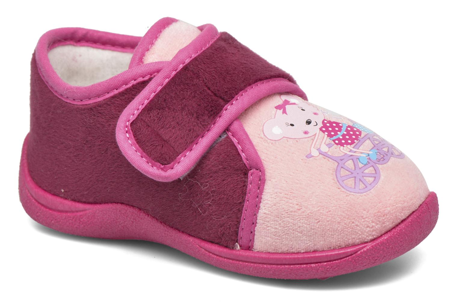 Slippers Rondinaud RECENT Pink detailed view/ Pair view